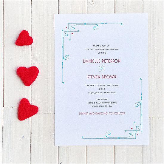 Art deco wedding invitation 72 beautiful wedding invite for Free printable wedding invitations wedding chicks