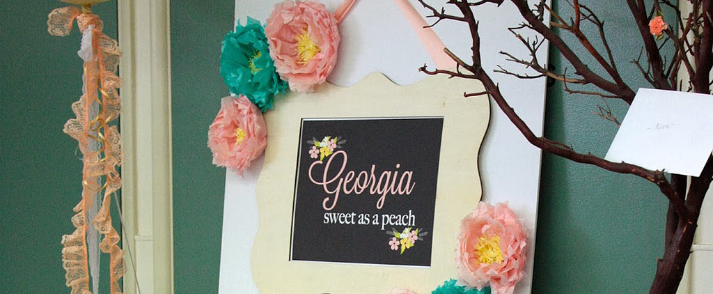 A Shower For a Sweet Georgia Peach