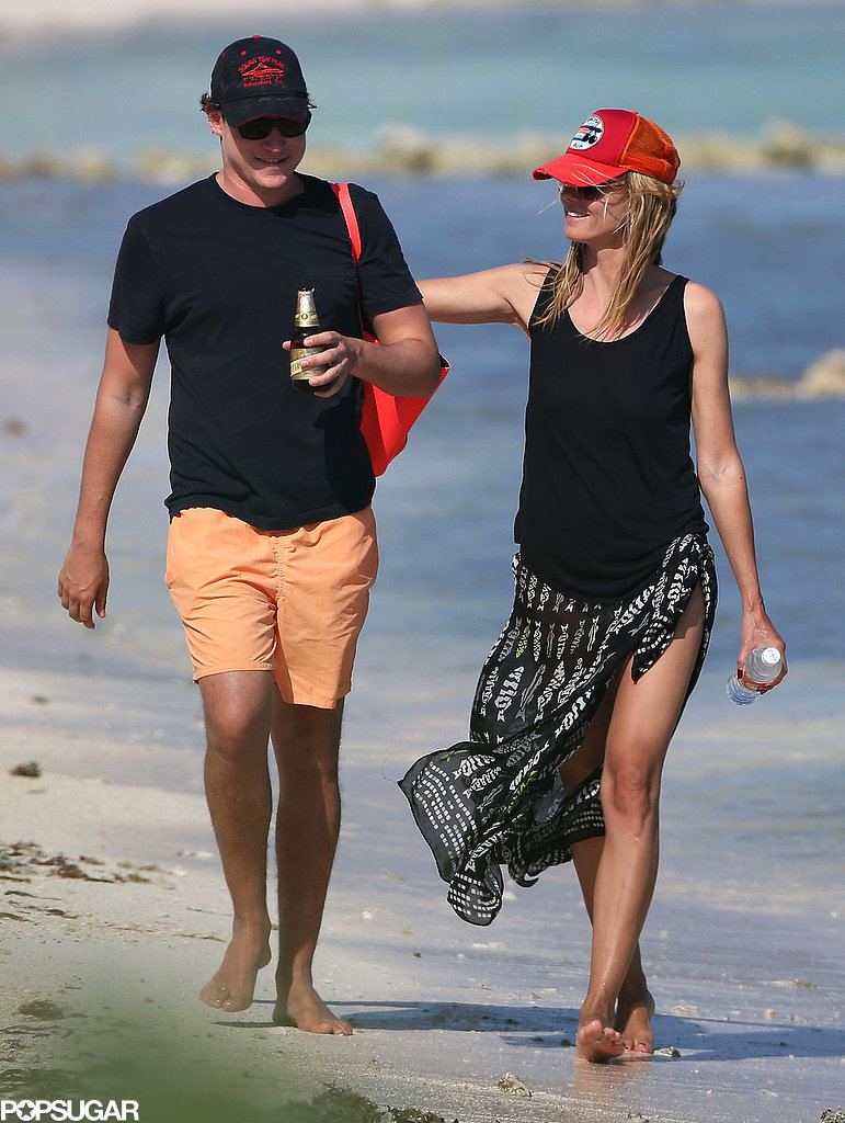 Heidi Klum Ditches Her Top For a Romantic Trip South of the Border