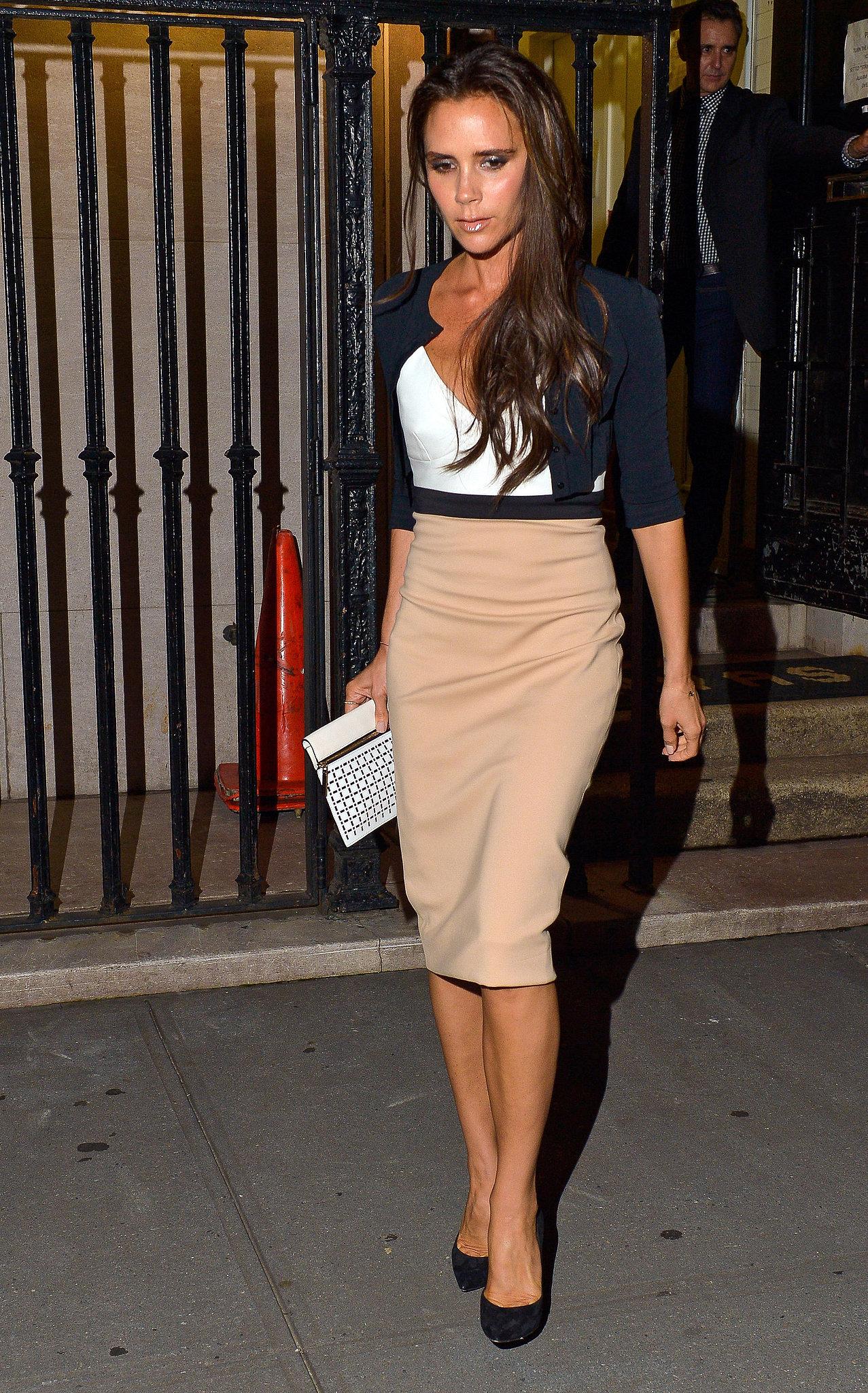 Victoria Beckham Style Evolution How Victoria Beckham