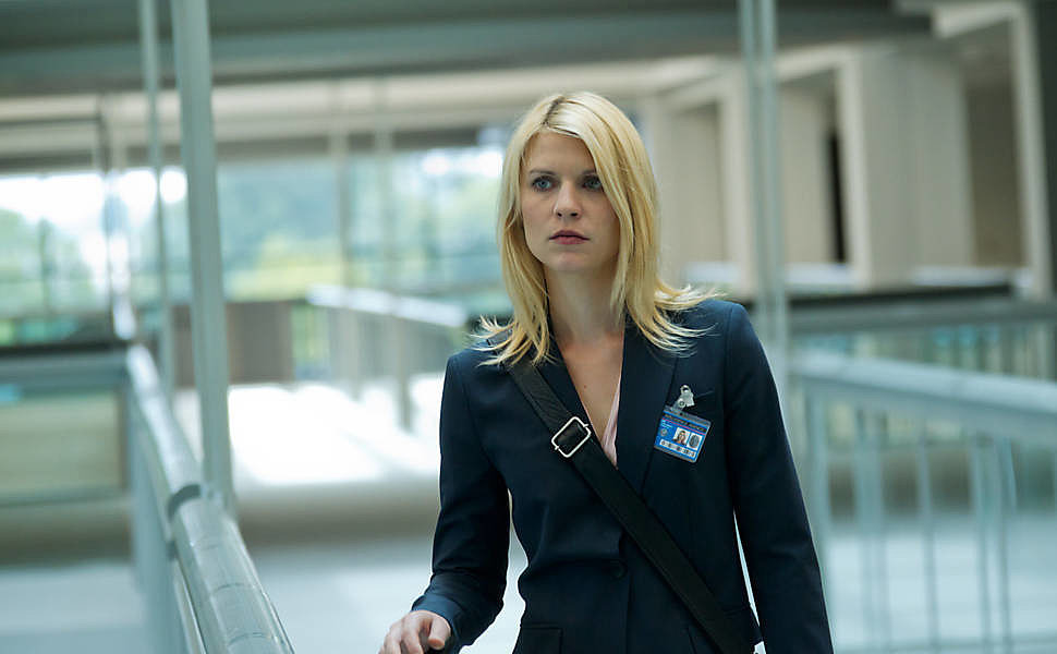 An angsty high schooler is a far cry from the emotionally unstable Carrie Mathison, Danes's character on Homeland. She doubled up on Golden Globe and Emmy victories in both 2012 and 2013.