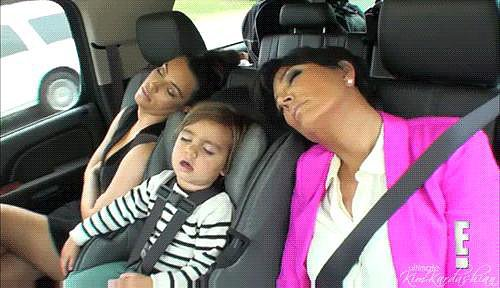 They are able to sleep anytime, anywhere.