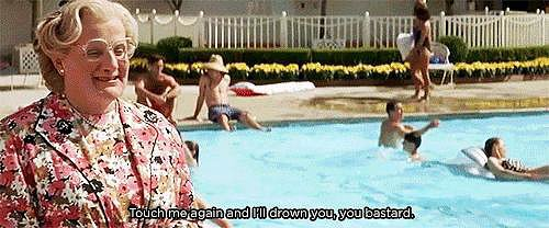 When Things Get Real at the Pool