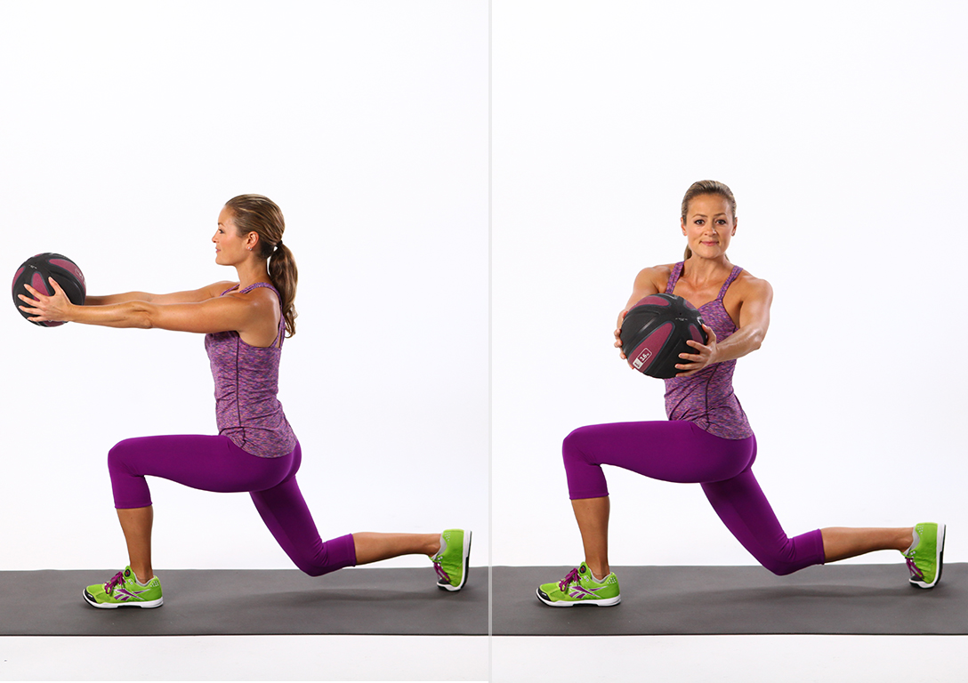 Reverse Lunge With Twist