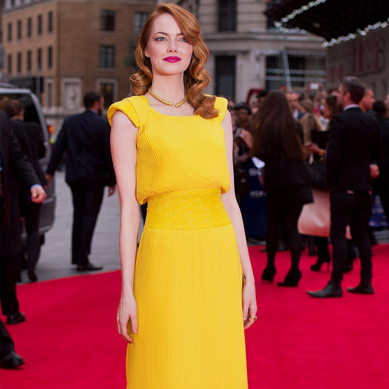Emma Stone's Style on The Amazing Spider-Man 2 Red Carpet