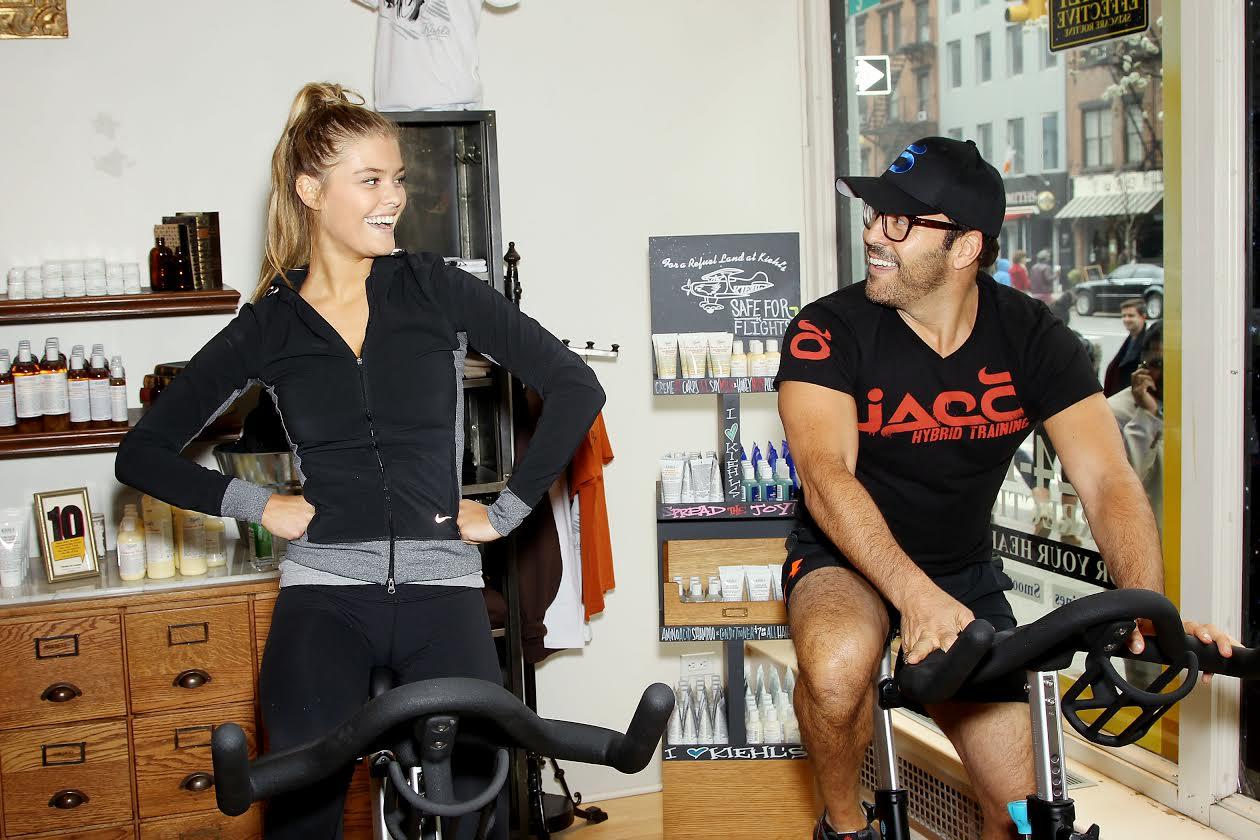 Jeremy Piven and Nina Agdal