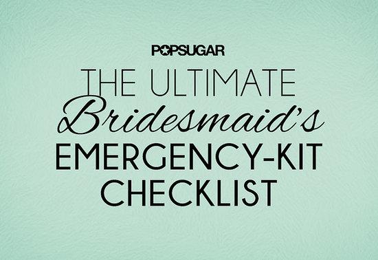 Bridesmaid Emergency Beauty Kit