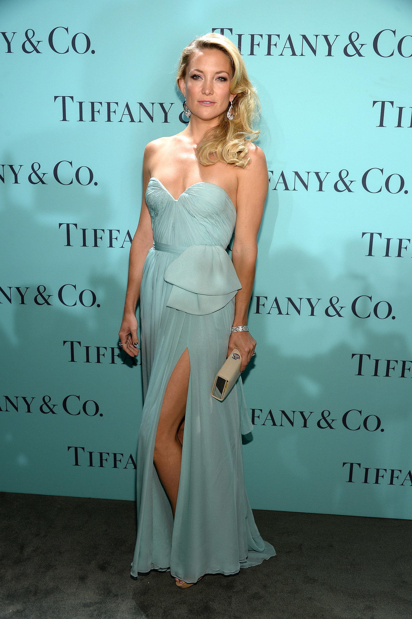 Kate Hudson in Reem Acra at the 2013 Tiffany & Co. Blue Book Ball