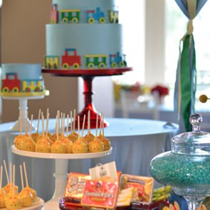 Candy-Themed Birthday Party