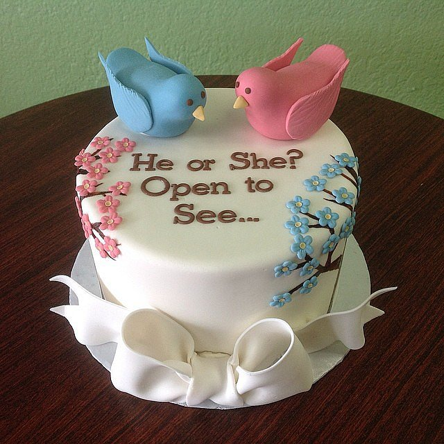 Gender Reveal Cake London