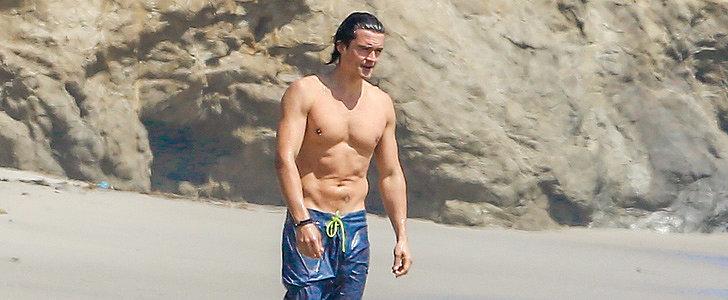 Orlando Bloom Still Looks Really Good Shirtless
