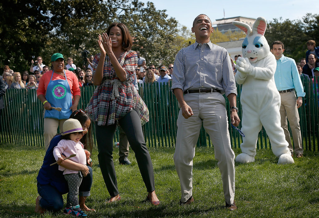 Pretty much, the Obamas had the best Easter ever.