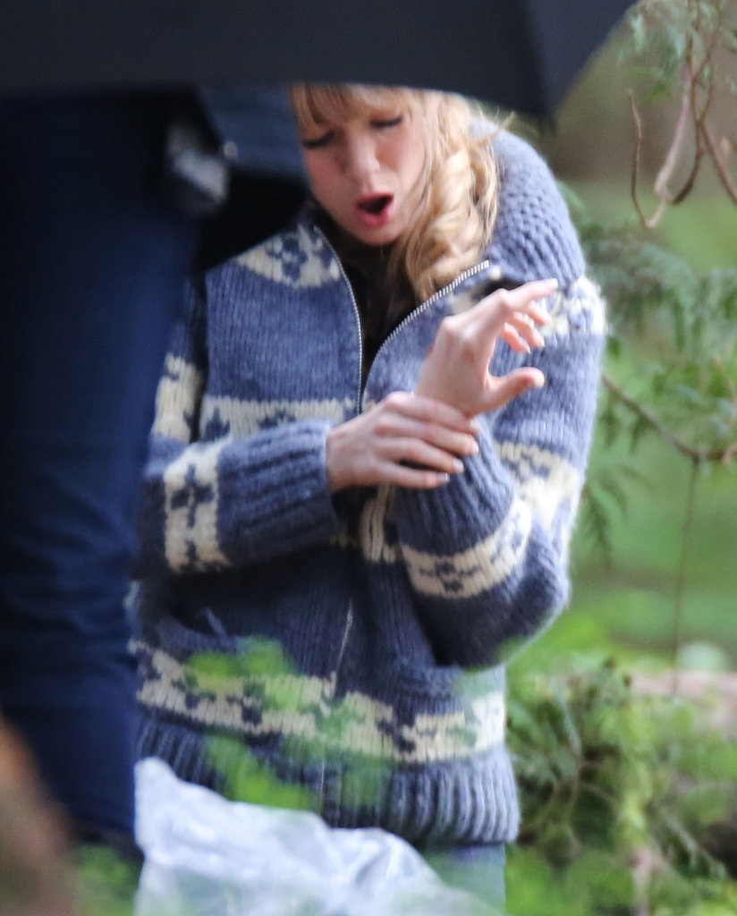 Ouch! Blake Lively Gets Injured on Set, but Handles It Like a Pro