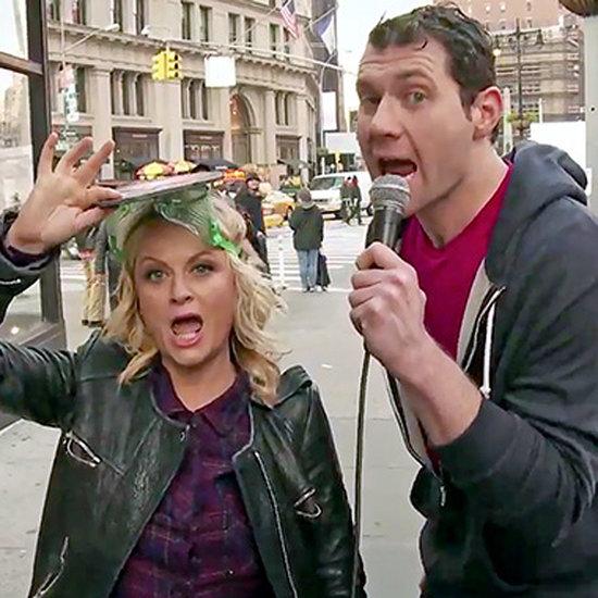 Amy Poehler's Pitbull Skit on Billy on the Street
