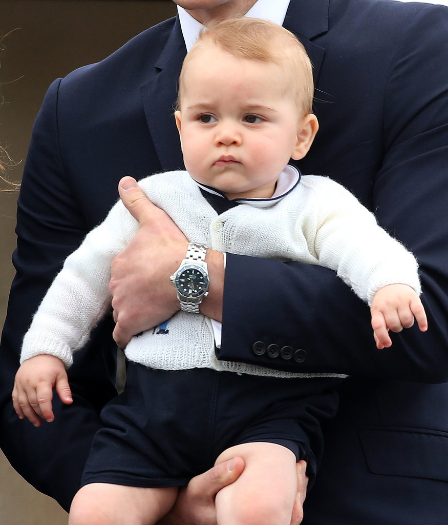Cute Prince George Expressions