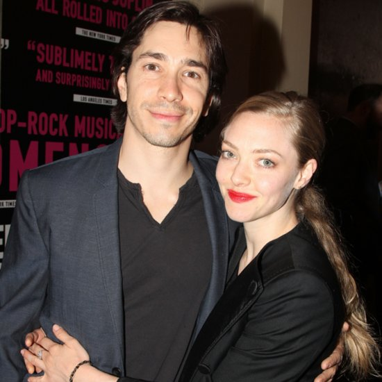 Amanda Seyfried and Justin Long Show PDA on Red Carpet