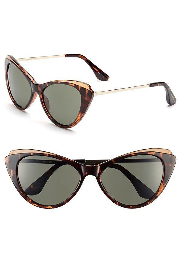 Isaac Mizrahi Cat-Eye Sunglasses