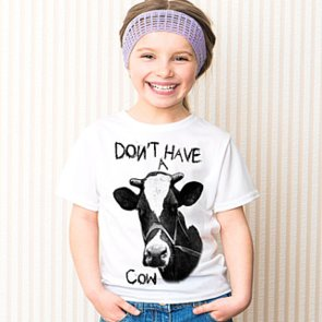 Cute Graphic T-Shirts For Children