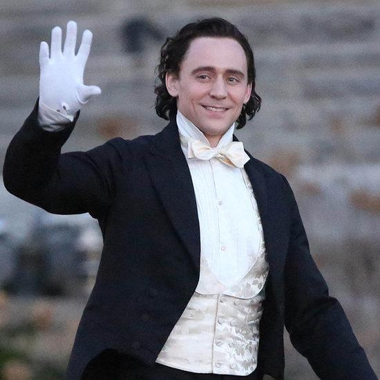 Tom Hiddleston Filming Crimson Peak | Pictures