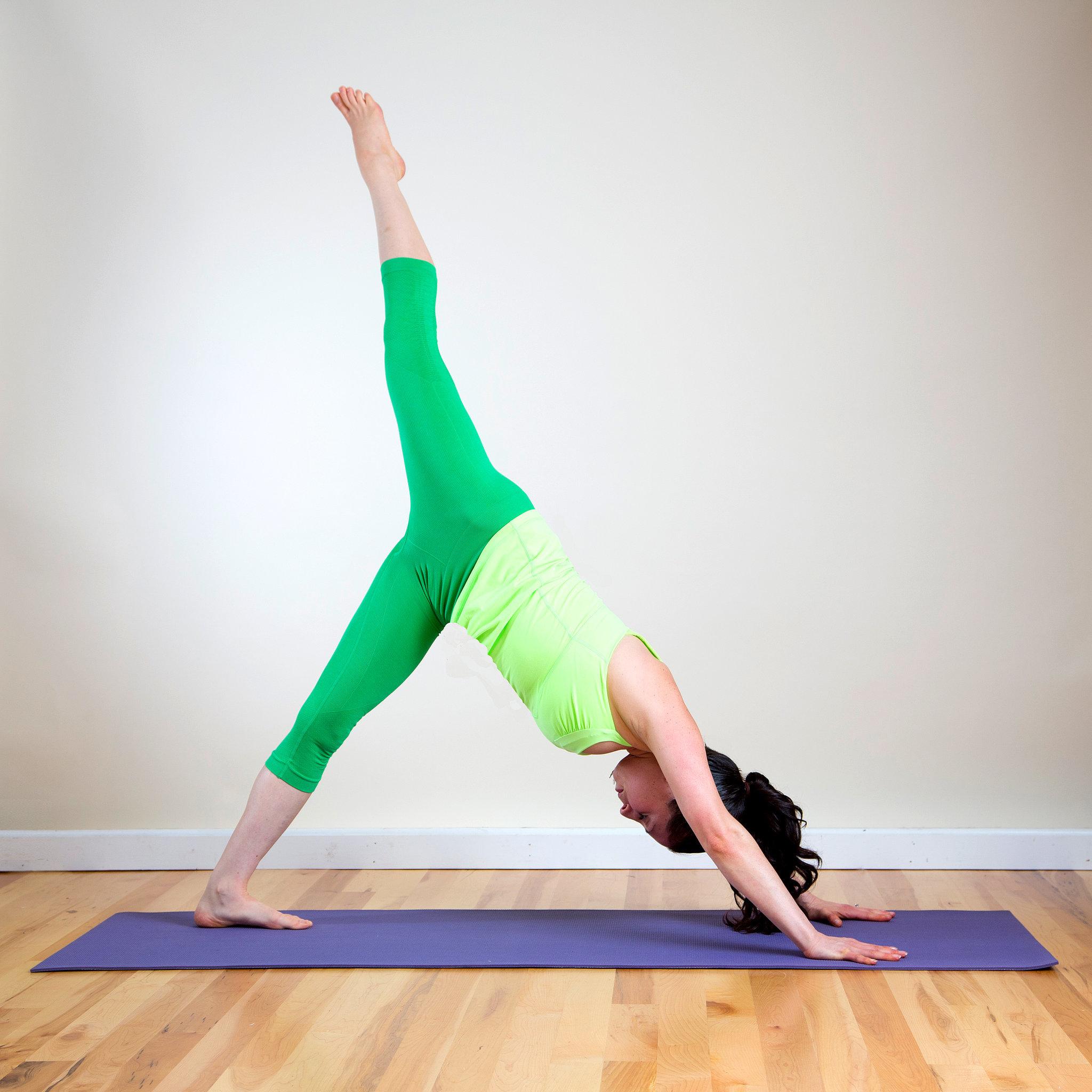 Yoga Pose 3: Three-Legged Dog