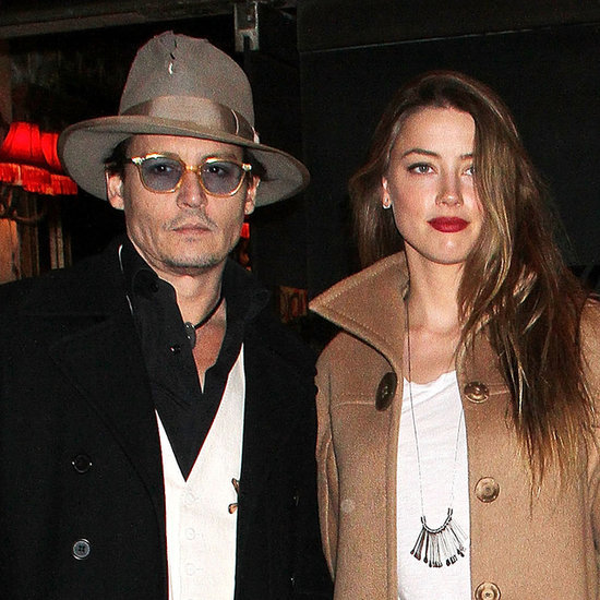 Johnny Depp and Amber Heard at Cabaret Opening Night