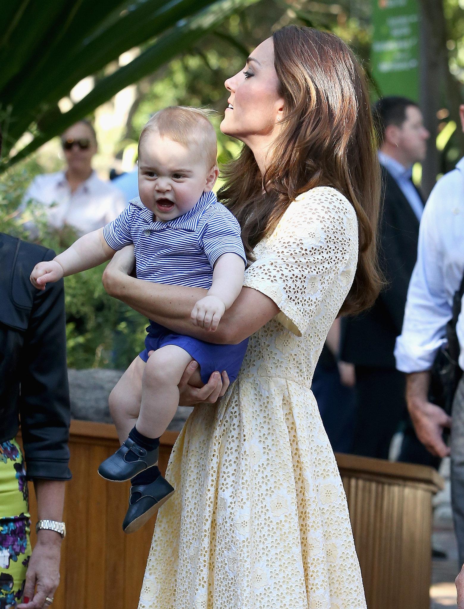 """""""Oh Dear, Georgie's Fussy. Where's Nanny?"""""""