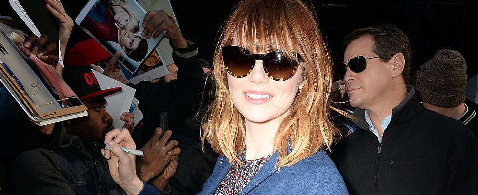 This Week's Most Beautiful: Emma Stone Has New Hair and Much More