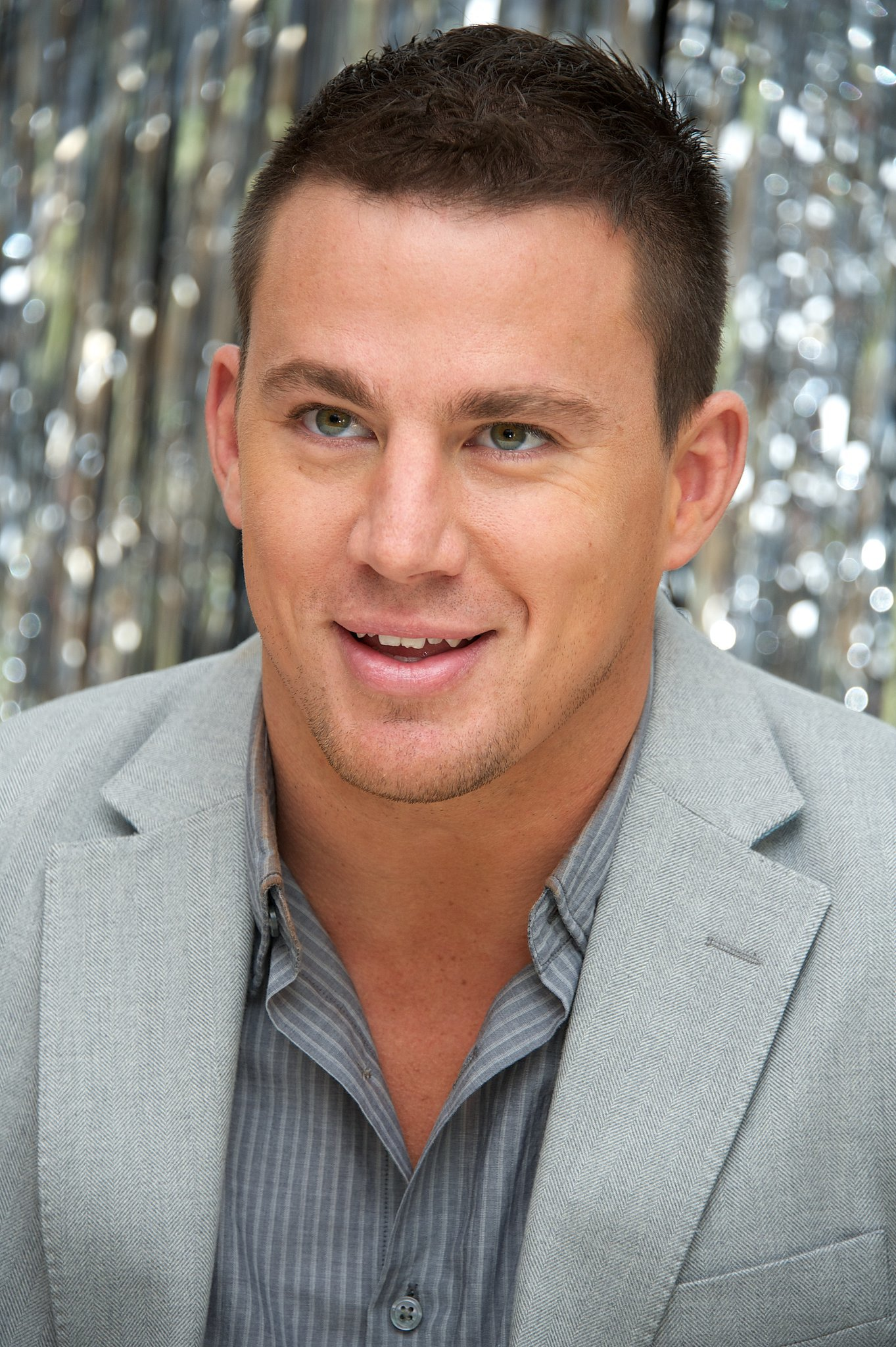 Channing's eyes were front and center during an appearance in June 2012 in LA.