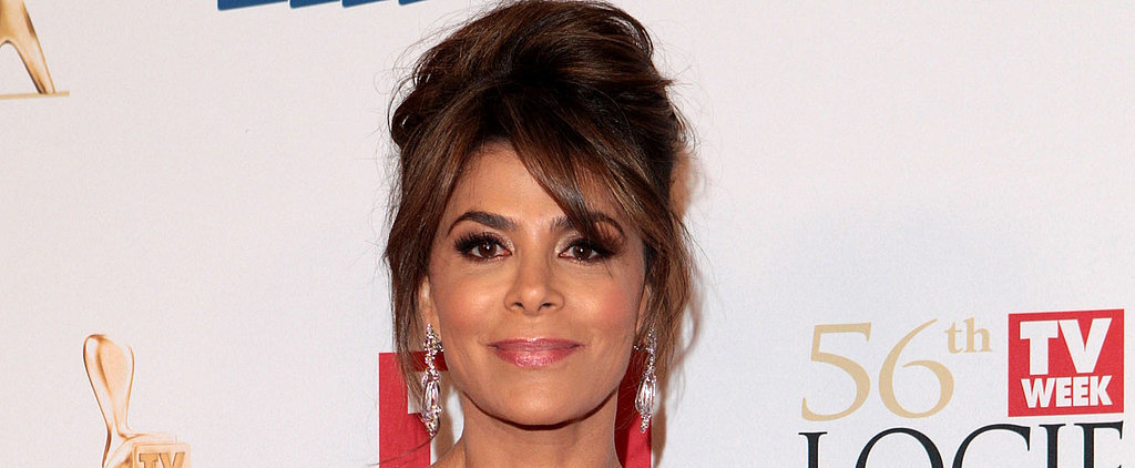 Paula Abdul Sports an Up 'Do with Some Serious Height