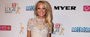 Carrie Bickmore Is the Logies Golden Girl in Paolo Sebastian