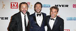 The Best Candid Photos From the 2014 Logies Red Carpet