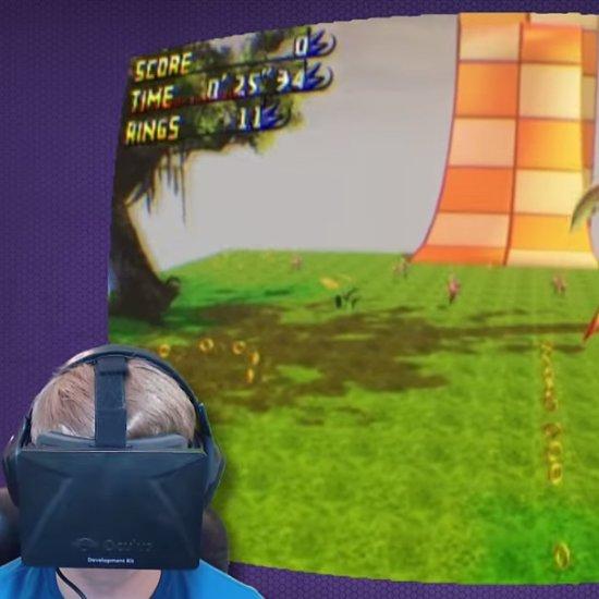 Sonic the Hedgehog Oculus Rift Video