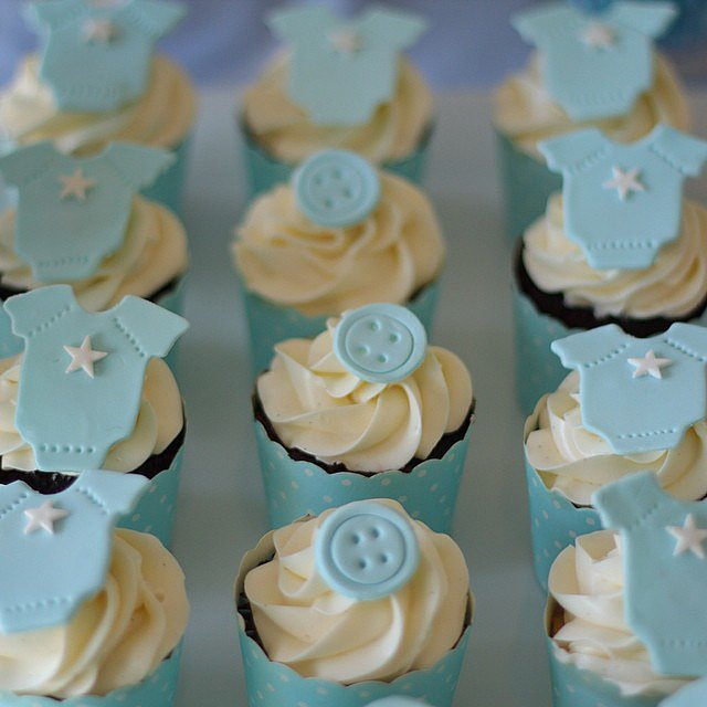 baby shower cupcakes  for childrens, Baby shower invitation