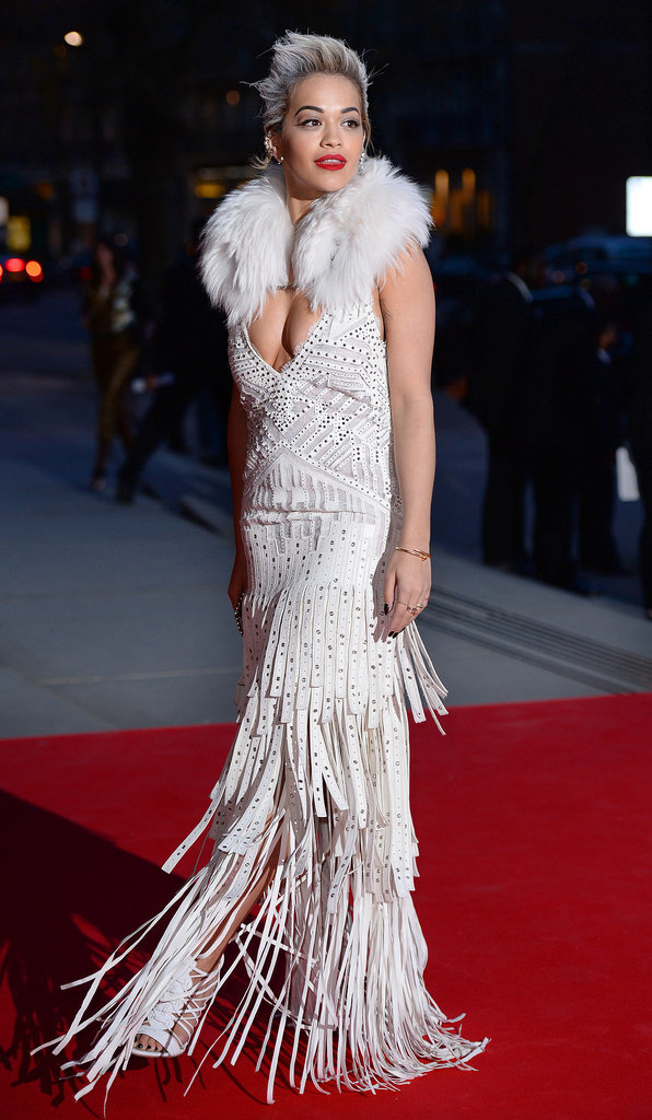 Rita Ora at the Preview For The Glamour of Italian Fashion