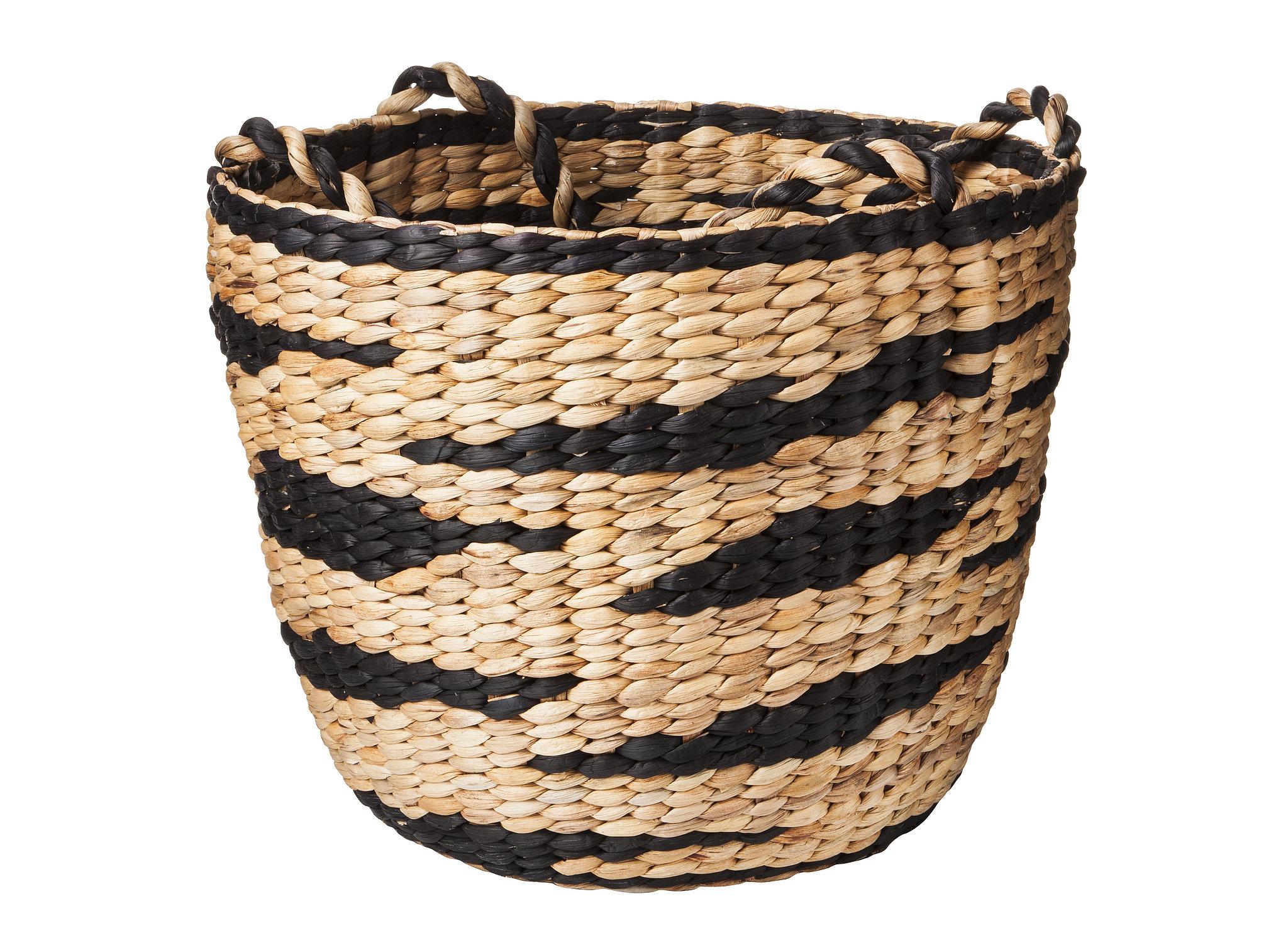 Water Hyacinth Basket With Handles ($35)