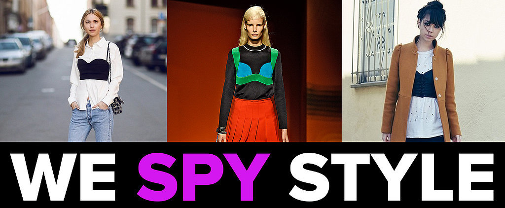 We Spy Trends: Crop Tops Over Shirts — Hot or Not?