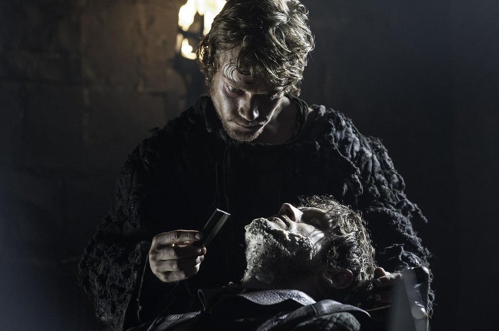 "Theon Greyjoy ""Reek,"" Played by Alfie Allen"
