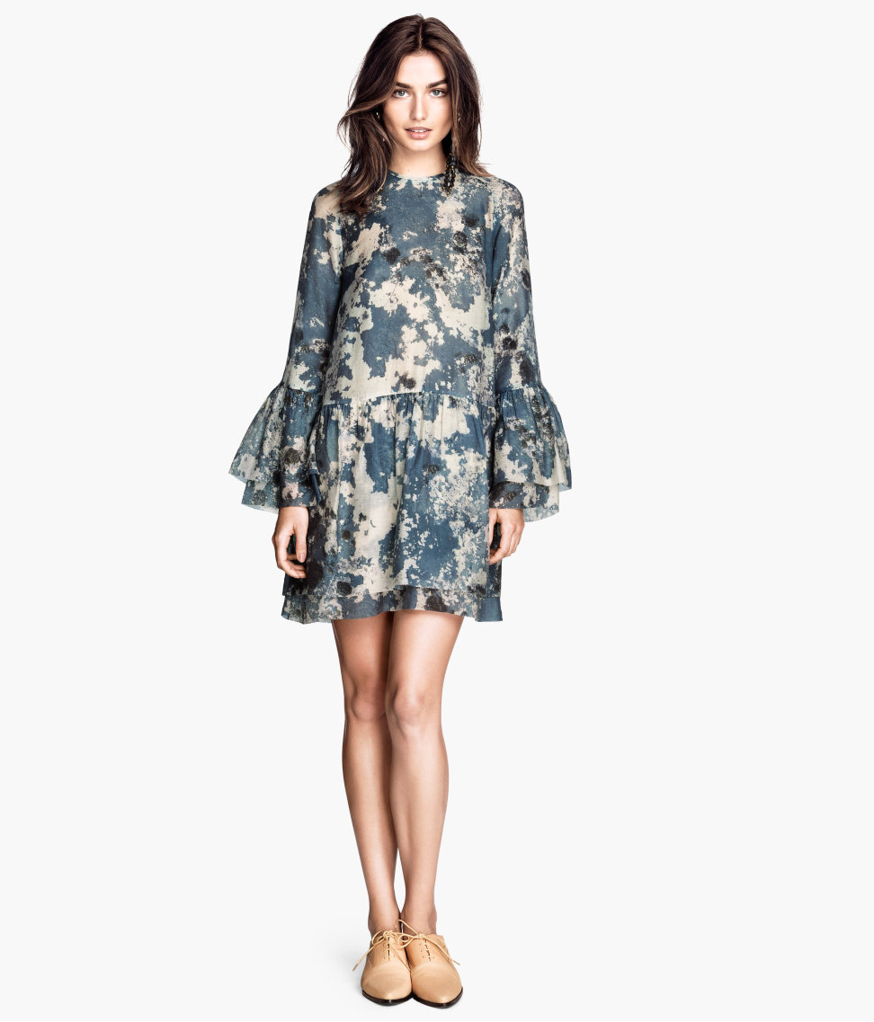 H&M Bell-Sleeve Dress