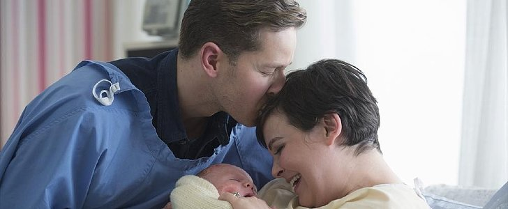 Once Upon a Time: Meet Snow and Charming's Tiny New Baby!