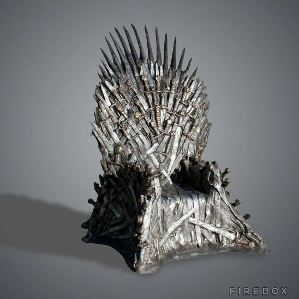 Sure, it's pricey, but if you snag this Iron Throne-inspired chair ($33,654), you'll be the coolest person on the entire planet.