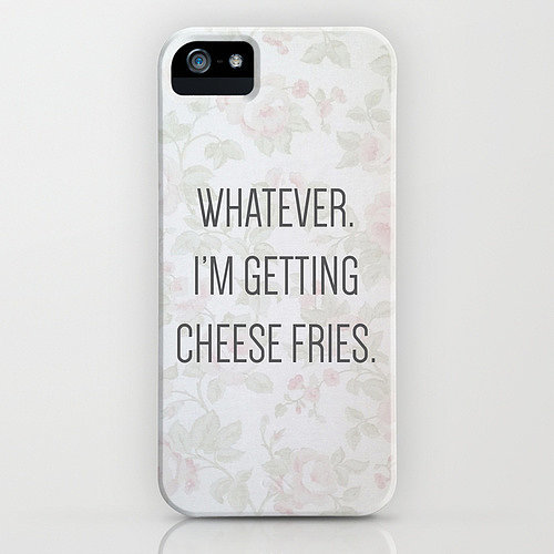 Whatever iPhone/Galaxy S5 case ($35)