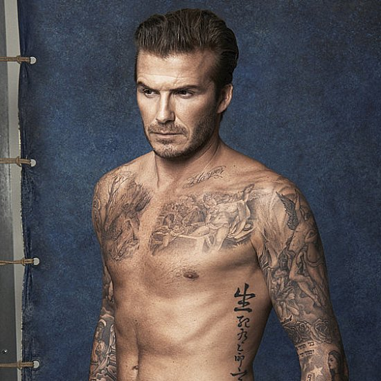 David Beckham's Best Shirtless Pictures