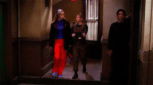 When Ross Totally Freaks Out the Girls