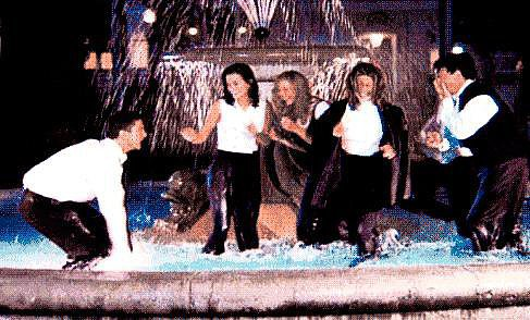 We Always Wished We Could Splash Around That Fountain