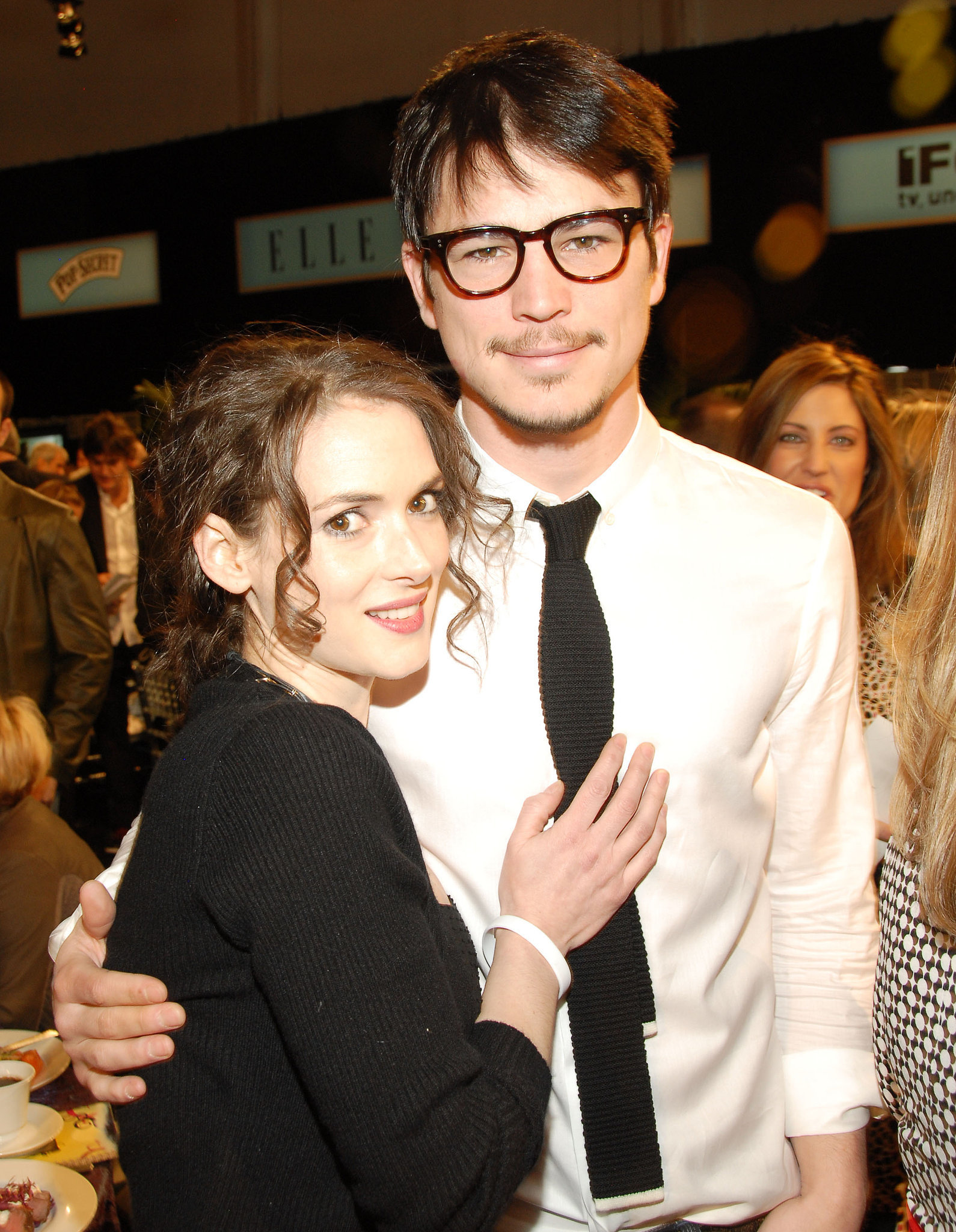 Even Winona Ryder Was Like, This Guy Is Smokin'