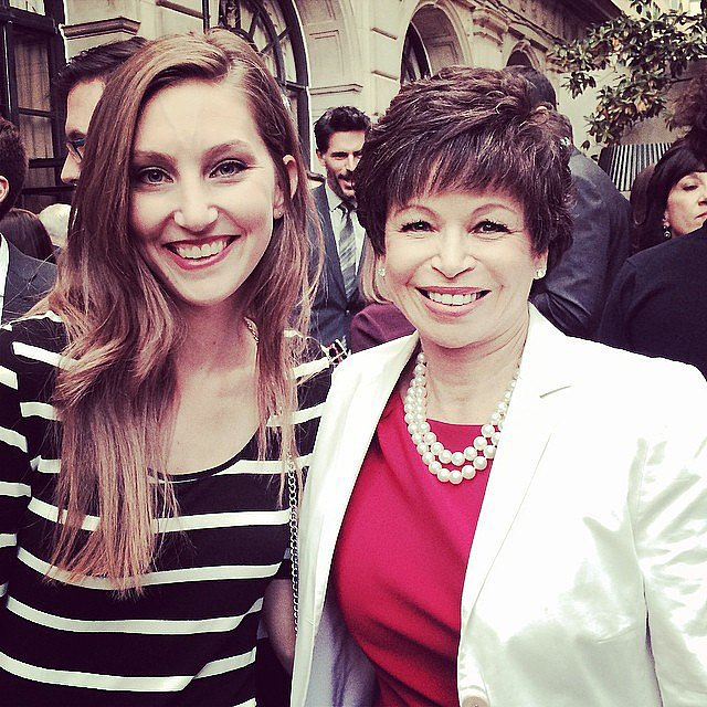 POPSUGAR News Editor Annie Gabillet caught up with President Barack Obama's Senior Advisor Valerie Jarrett.
