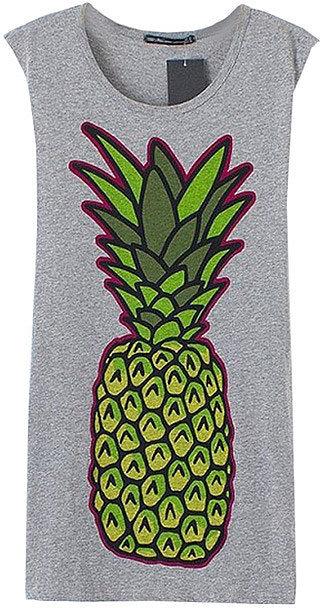 ChicNova Pineapple Shirt