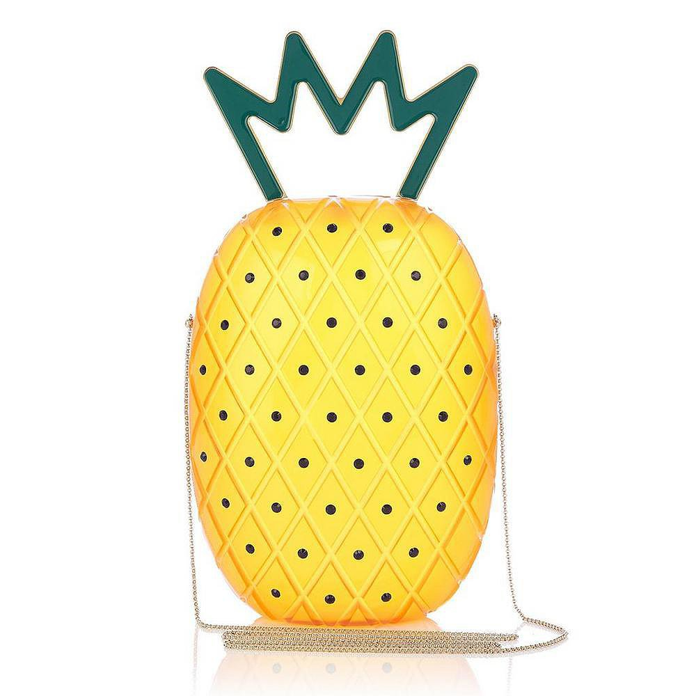 Charlotte Olympia Pineapple Clutch