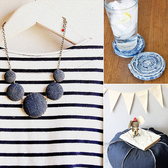 19 Ideas For Upcycling Denim