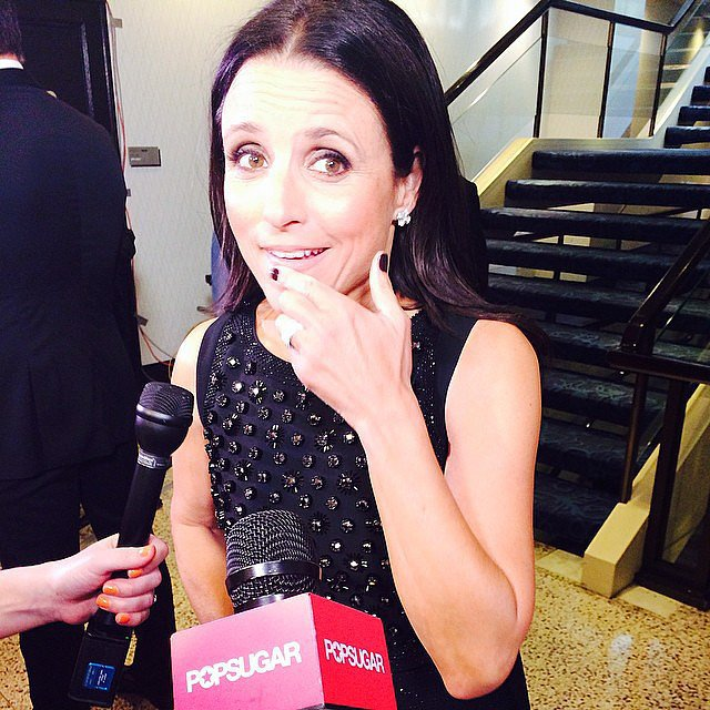 Julia Louis-Dreyfus brought her signature sense of humor.